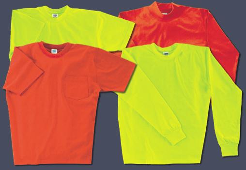 Camber sportswear hi vis high visibility t shirts for Custom hi vis shirts